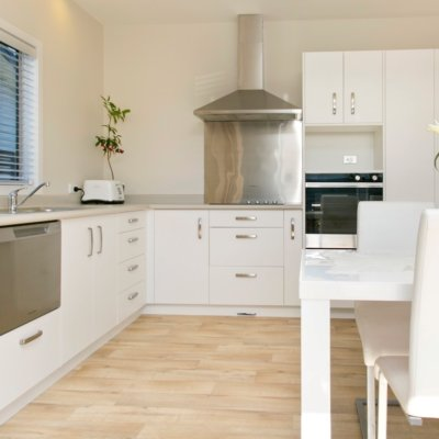Arctic White Velvet | Maverick Joinery for Northlit Living - Taupo