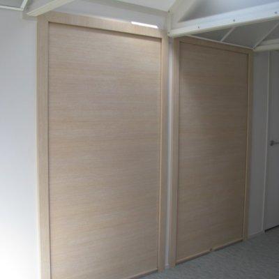 large roller door for storage cabinet