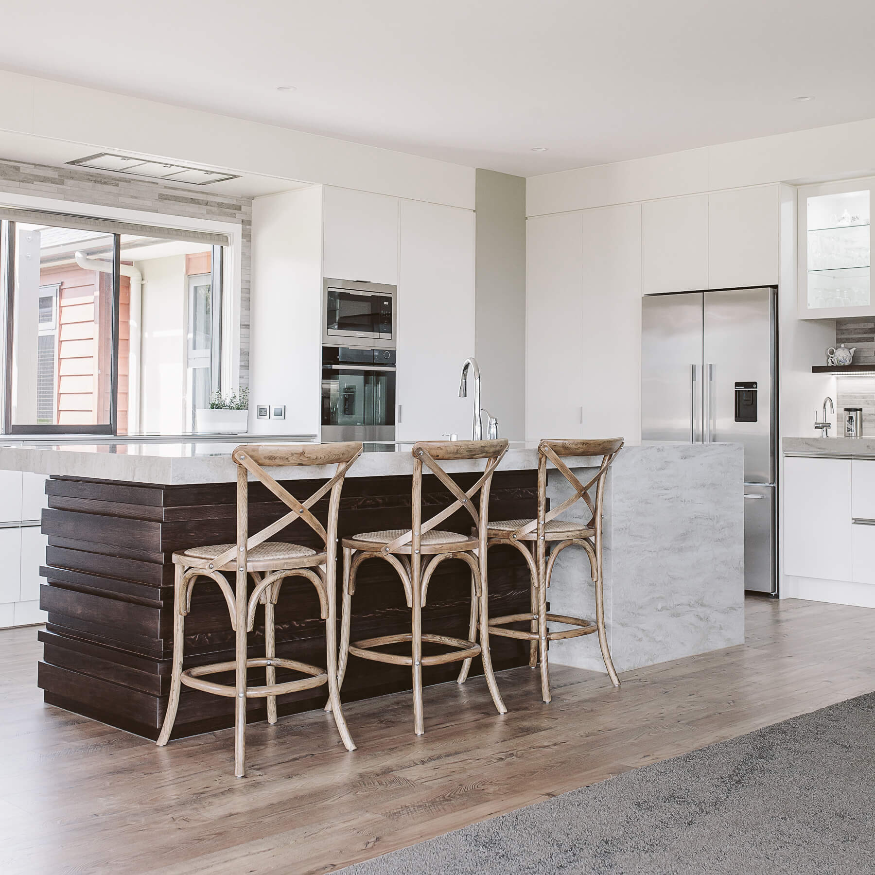 Arctic White Velvet | Rowson Kitchens in New Plymouth