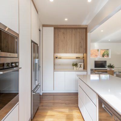 Kitchen Vision | Timbalook Matakana + Matte White